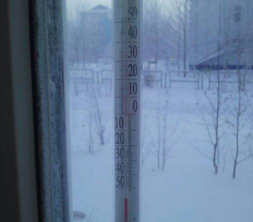 Морозы в Угре