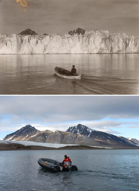 7 шокирующих фото, иллюстрирующих климатические изменения в Арктике