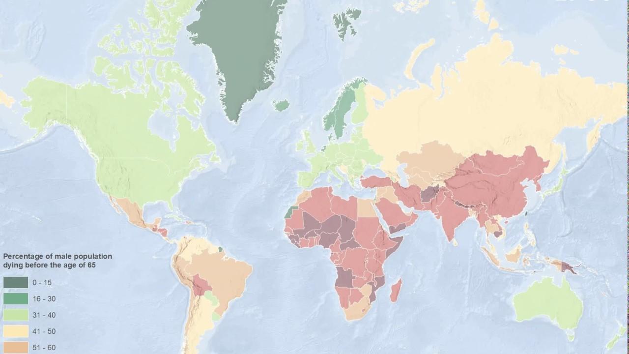Суровая статистика: Более половины мужчин в России не доживает до 65 лет