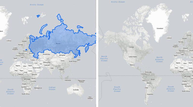 Меркатор - Площадь России