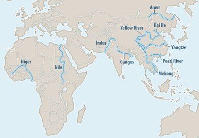 10 рек планеты ответственны за поступление в океаны 95% пластика