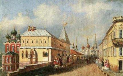 Зарядье в 19 веке