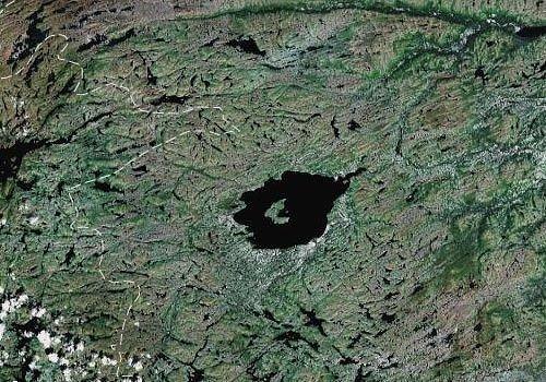 Озеро Мистастин, Канада