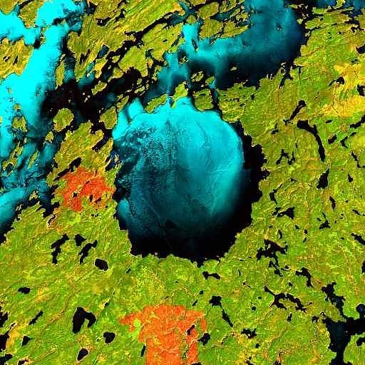 Глубокий Залив, Канада