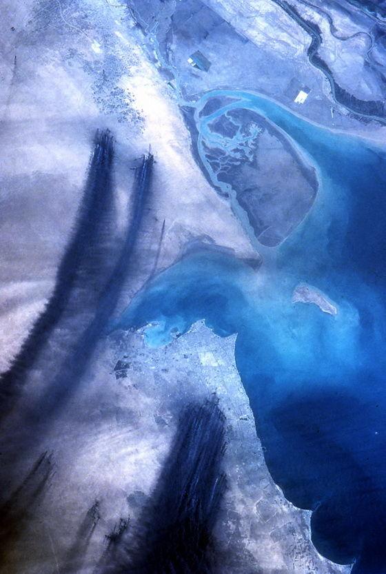 Нефтяные скважины Кувейта