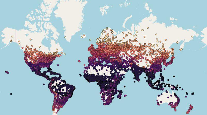 Климат городов в 2050 году