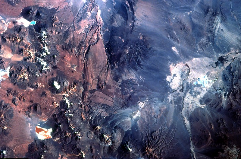 Медный рудник Chuquicamata, область Антофагасты, Север Чили